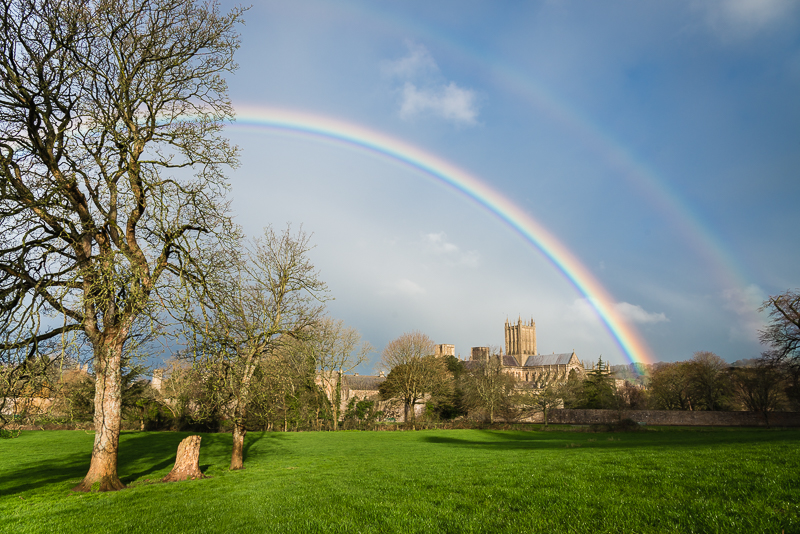 Wells Cathedral Rainbow