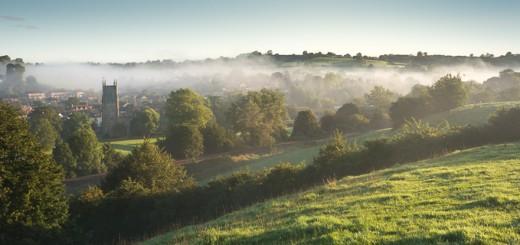 Morning Mist at Bruton