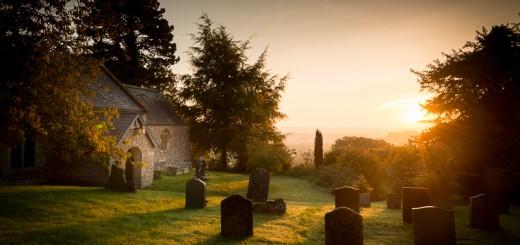 St Nicholas Church on an Autumn Dawn