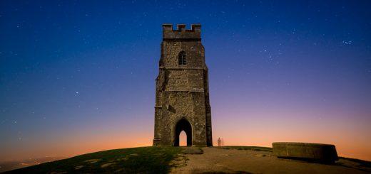 Glastonbury Tor at Night - Somerset, UK. ID 810_5831