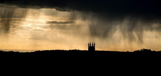 April Shower - St Cuthberts, Wells, Somerset, UK. ID 810_8269