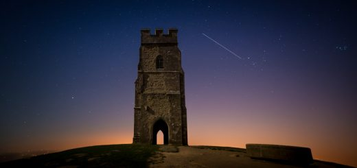 ISS over Glastonbury Tor - Somerset, UK. ID 810_5836