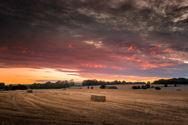 Sunrise - Priddy, Somerset, UK. ID 823_3157