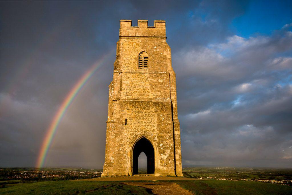 Rainbow - Glastonbury Tor, Somerset, UK. ID 823_3644A