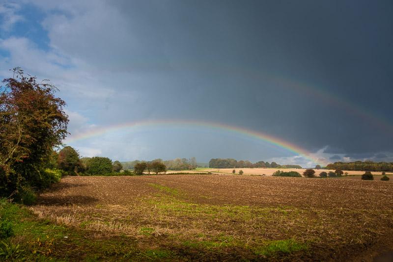 Rainbow - Mendip Hills, Somerset, UK. ID 823_3841