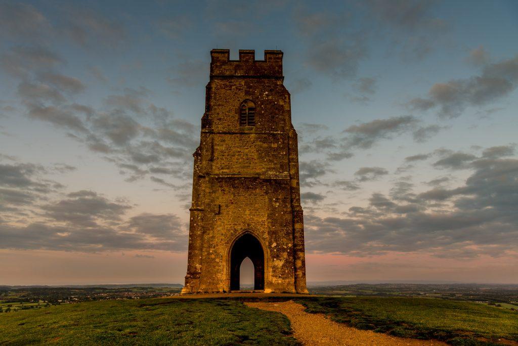 Glastonbury Tor at Dawn - Somerset, UK. ID 823_3867