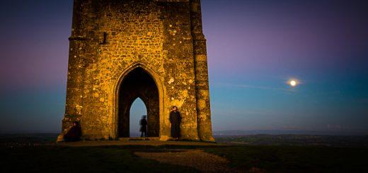 October Harvest Moon - Glastonbury Tor, Somerset, UK. ID 823_4840