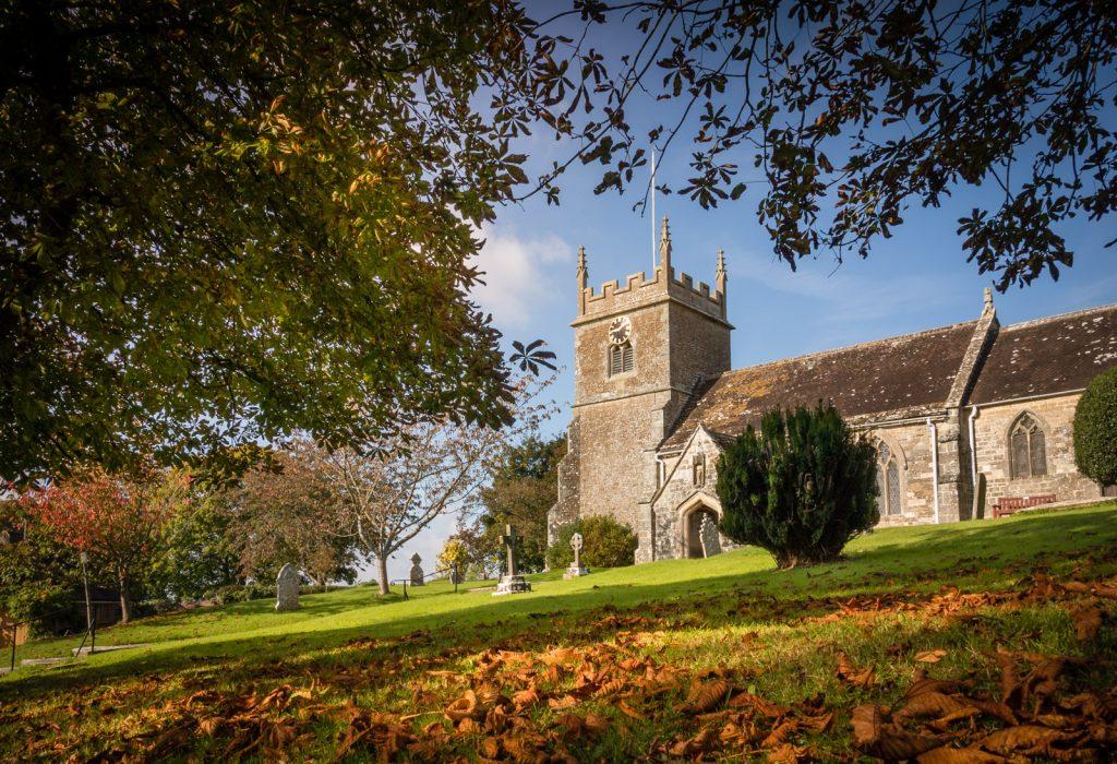 Church of St John the Baptist - Buckhorn Weston, Dorset near Somerset border, UK. ID DSC_0456