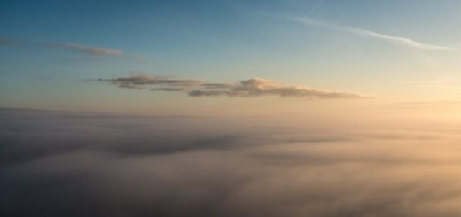 Morning Mist - From Glastonbury Tor, Somerset, UK. ID 823_6867