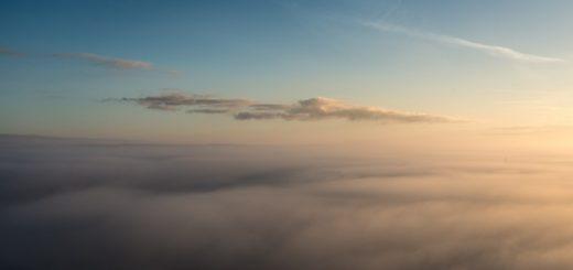Morning Mist - From Glastonbury Tor, Somerset, UK. ID 823_6867