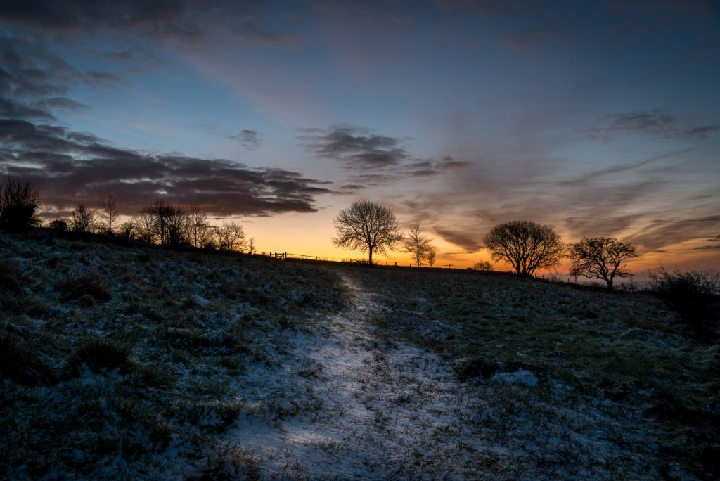 Sunrise at Deerleap - Mendip Hills, Somerset, UK. ID 824_1637
