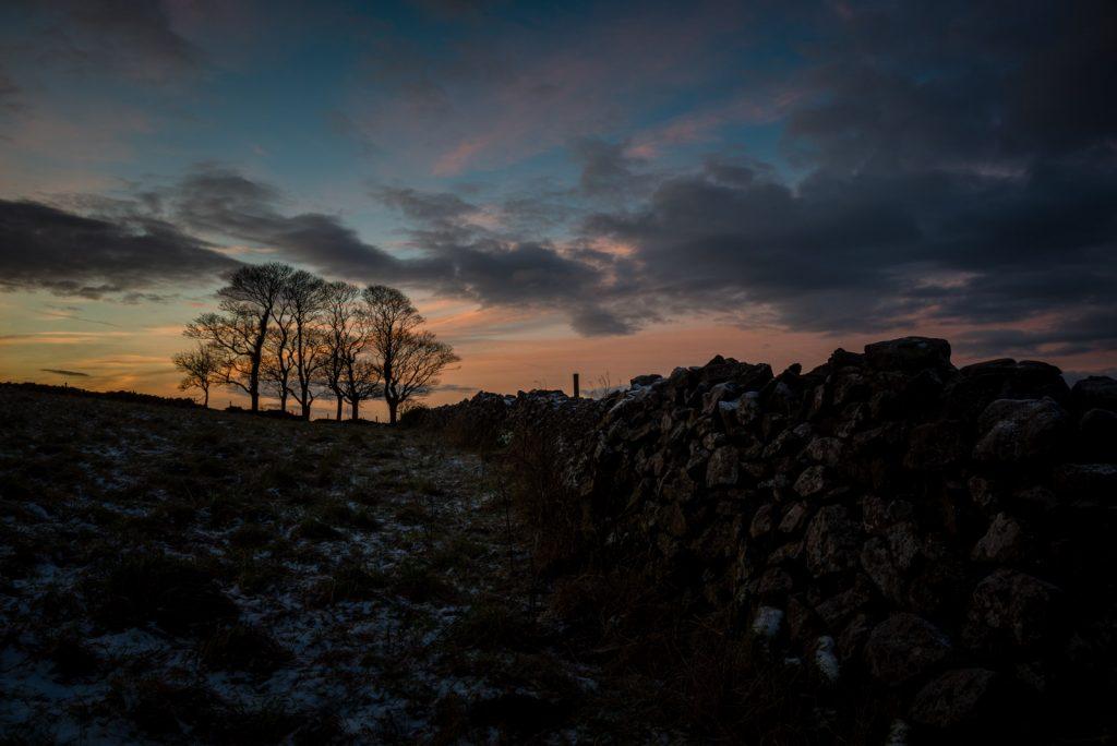 Sunrise at Cooks Fields - Mendip Hills, Somerset, UK. ID 824_1673