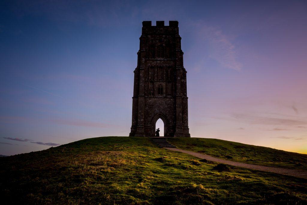 Glastonbury Tor at Sunrise - Somerset, UK. ID 824_4143