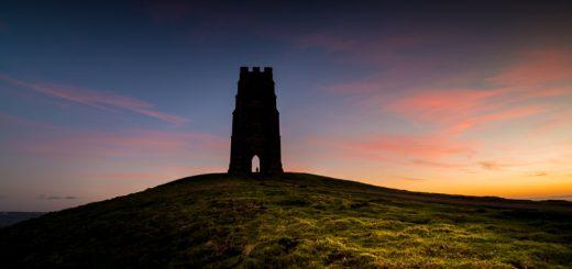 Glastonbury Tor at Sunrise - Somerset, UK. ID 824_4167