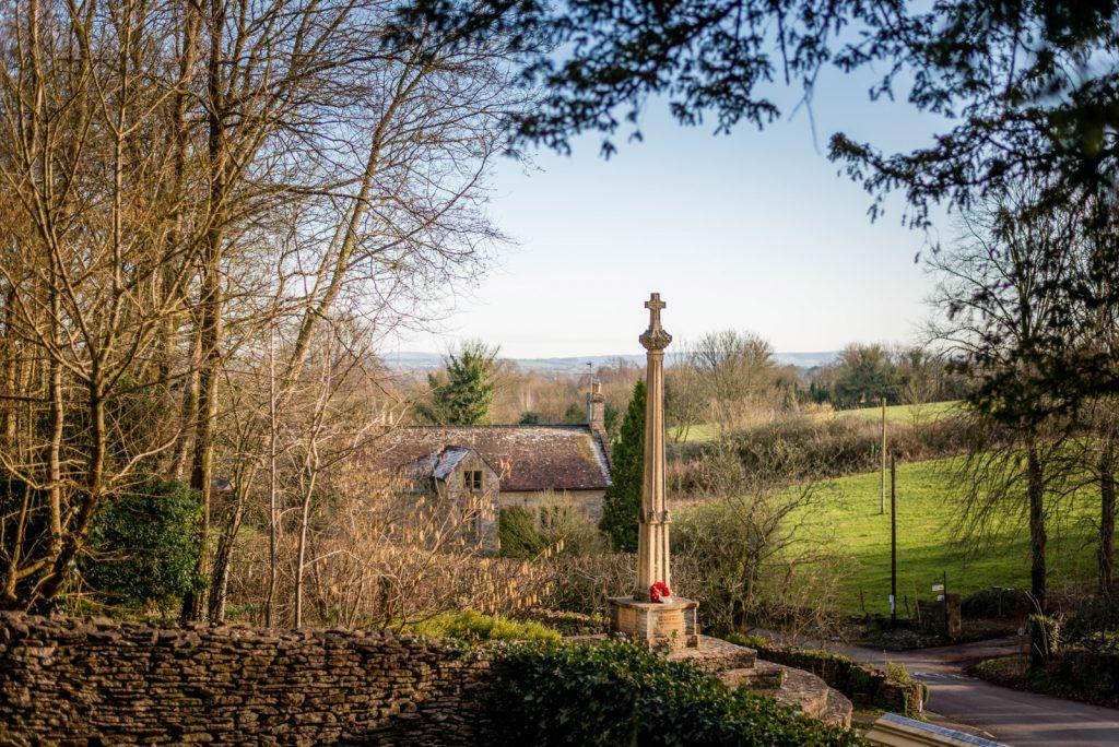 Memorial Cross - North Cheriton, Somerset, UK. ID 824_9555