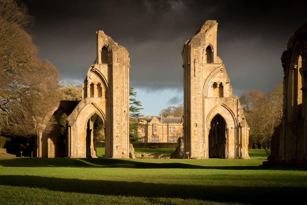 Glastonbury Abbey - Somerset, UK. ID 825_0521