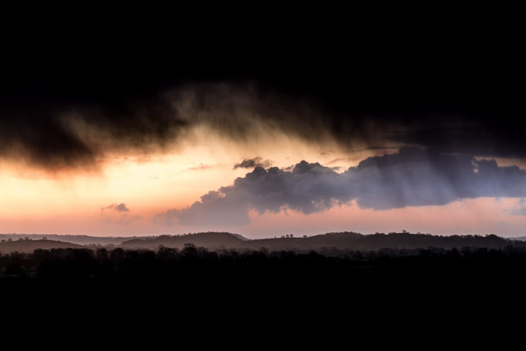 Passing Storm - Wedmore, Somerset, UK. ID 825_0809
