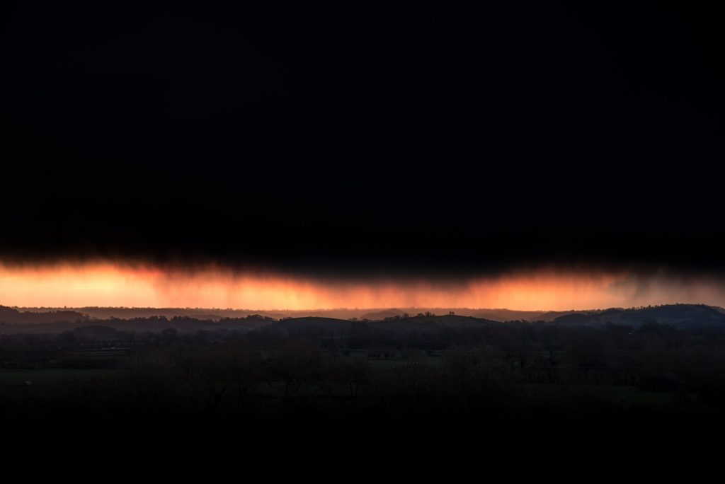Passing Storm - Wedmore, Somerset, UK. ID 825_0878