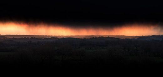 Passing Storm - Wedmore, Somerset, UK. ID 825_0878