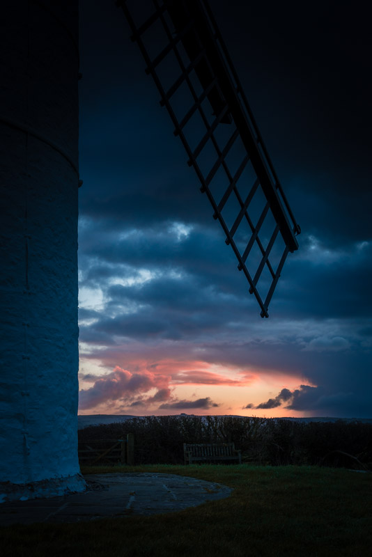 Passing Storm - Ashton windmill, Nr Wedmore, Somerset, UK. ID 825_0927