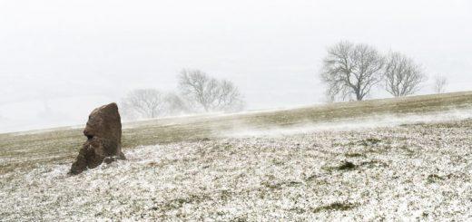Snow Blown - Deerleap, Nr Priddy, Somerset, UK. ID 825_2798