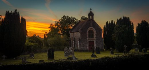 Cemetery Chapel - North Cheriton, Somerset, UK. ID 825_9632