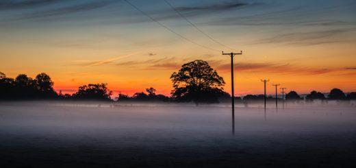 Mist Telegraph - Chewton Mendip, Somerset, UK. ID 826_0024