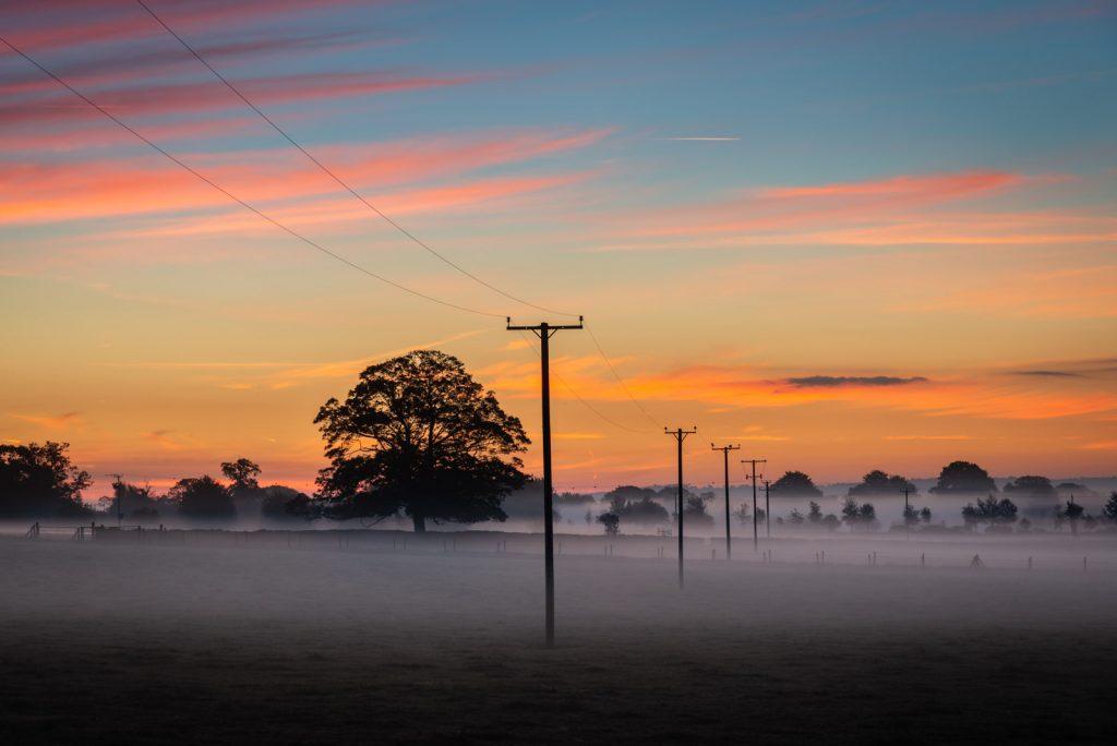 Mist Telegraph - Chewton Mendip, Somerset, UK. ID 826_0040