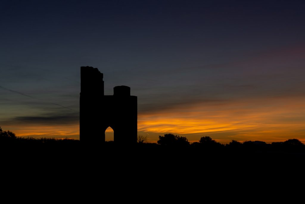 6:46am Dawn at Ditcheat Folly - Ditcheat Hill, Somerset, UK. ID 826_0068