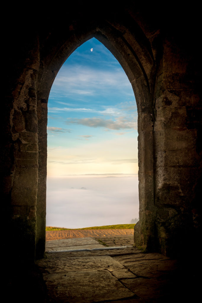 Looking Out - Glastonbury Tor, Somerset, UK. ID 827_8106H