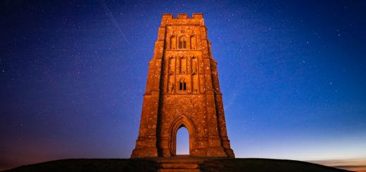 Glastonbury Tor at Night - Somerset, UK. ID 927_9247