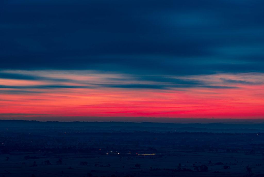 Dawn from Glastonbury Tor - Somerset, UK. ID 827_9277