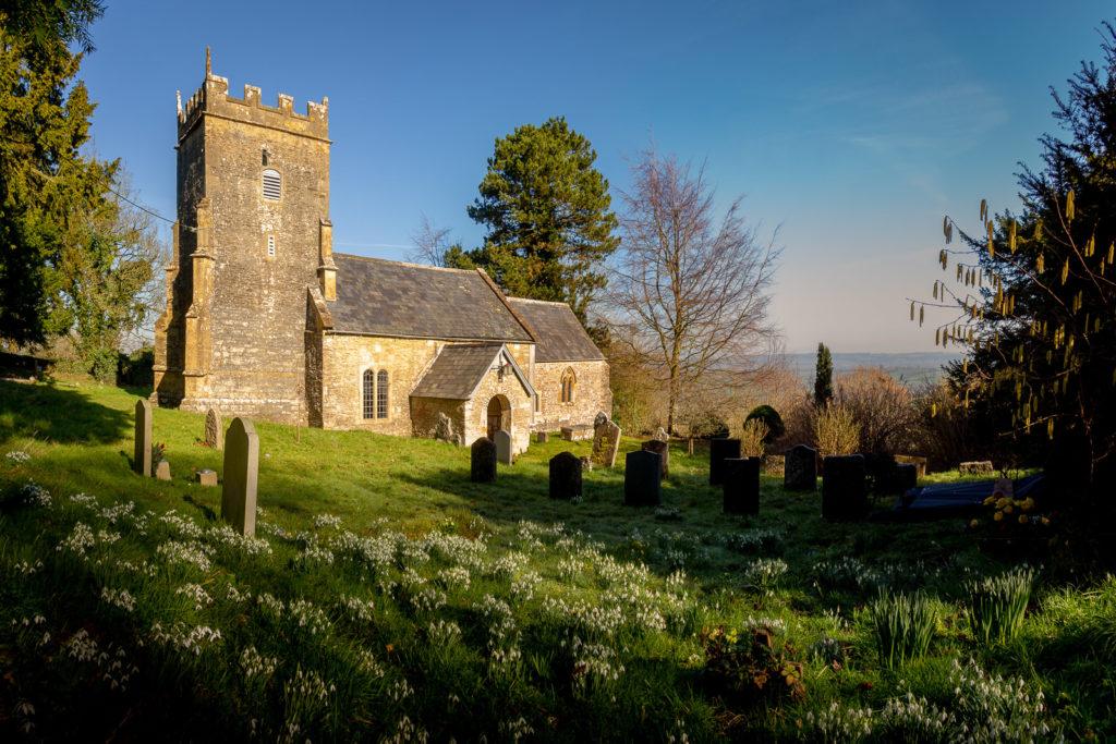 St Nicholas Church - Bratton Seymour, Somerset, England. ID IMG_2800P