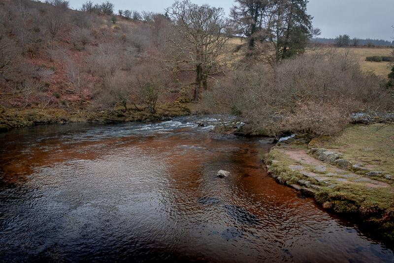 River Dart - Huccaby Bridge, Dartmoor, UK. ID IMG_3651