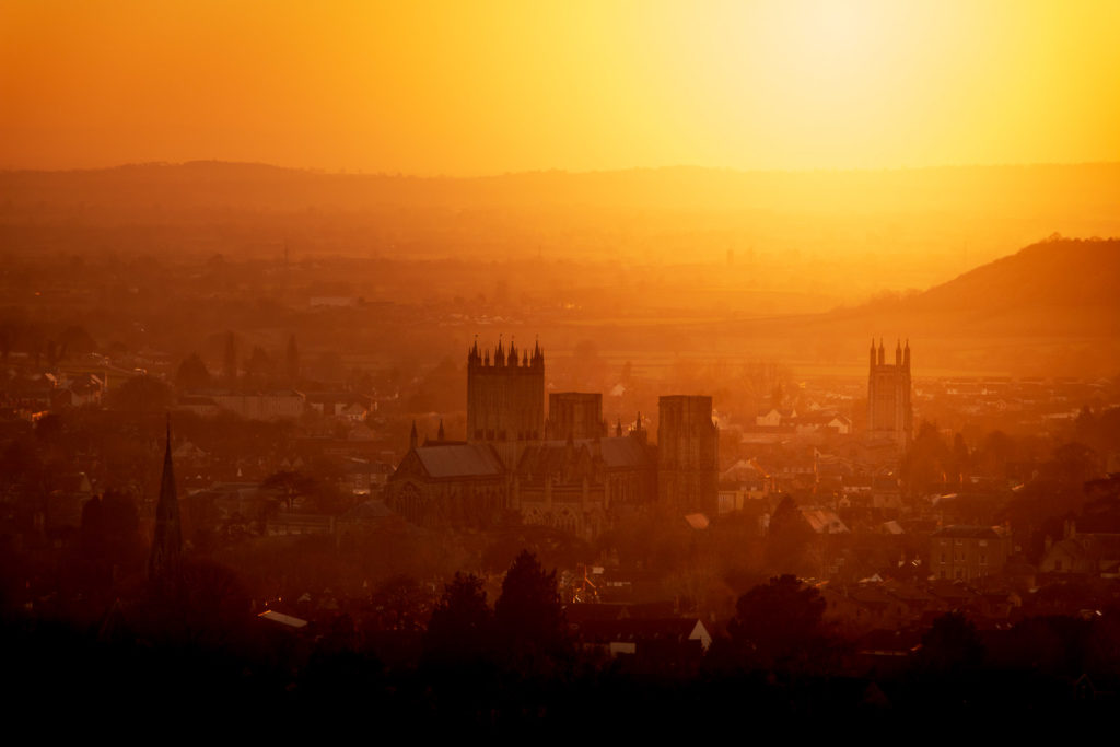 Wells Evening - Somerset, UK. ID IMG_4316