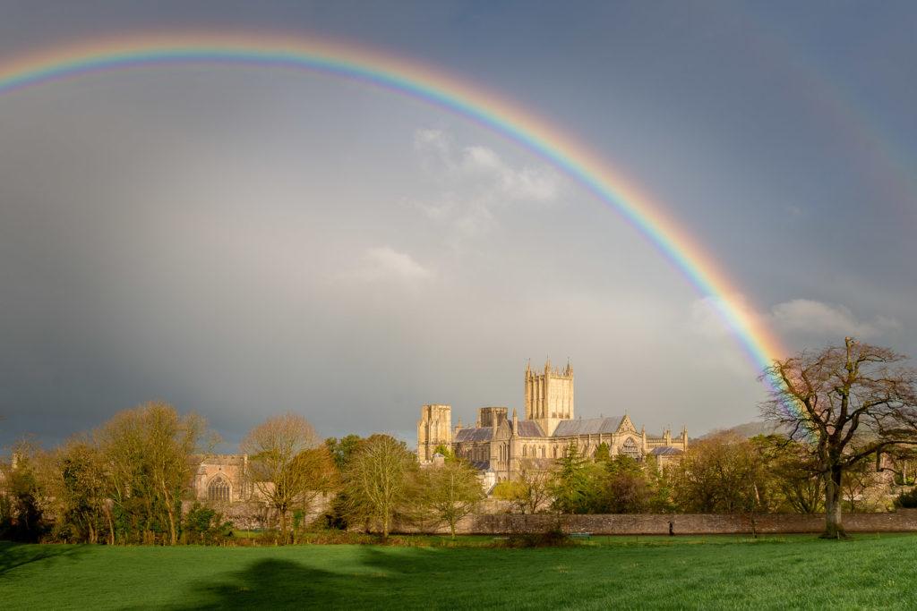 Rainbow - Wells, Somerset, UK. ID 800_0058