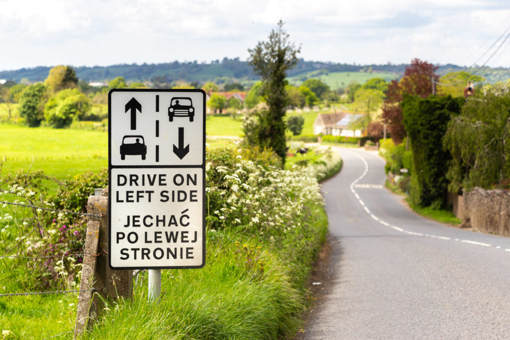 Drive on left side - Wyke Champflower, Someret, UK. ID IMG_1388
