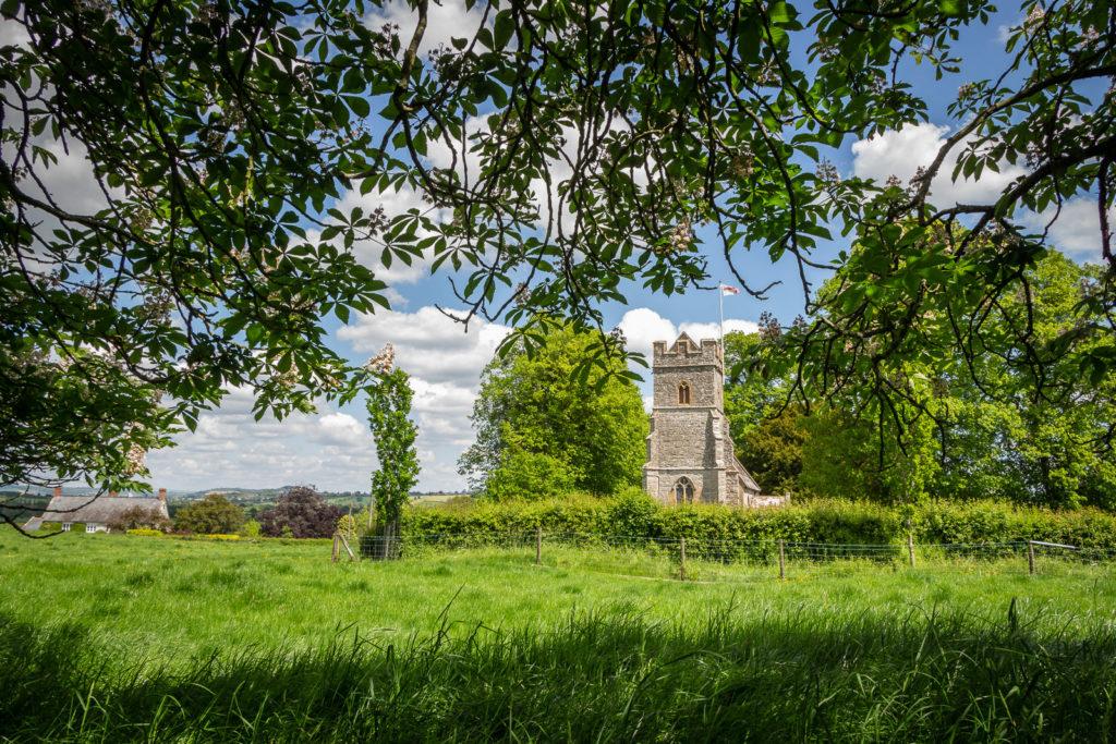 Church of St Nicholas - North Barrow, Somerset, UK. ID IMG_0058