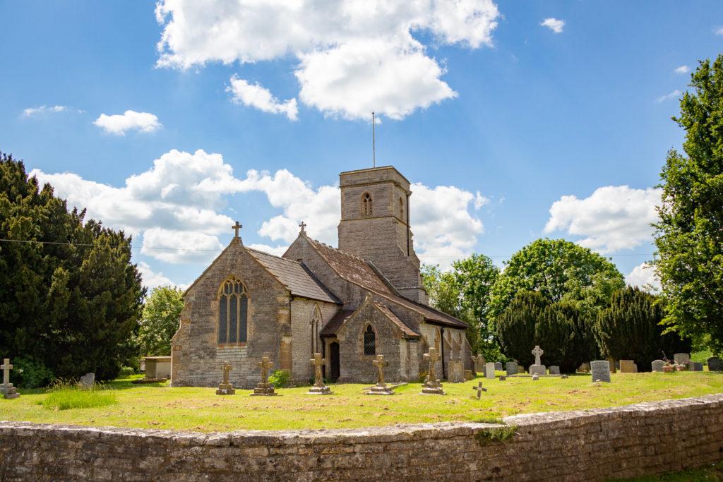 Church of St Thomas of Canterbury - Lovington, Somerset, UK. ID IMG_0096