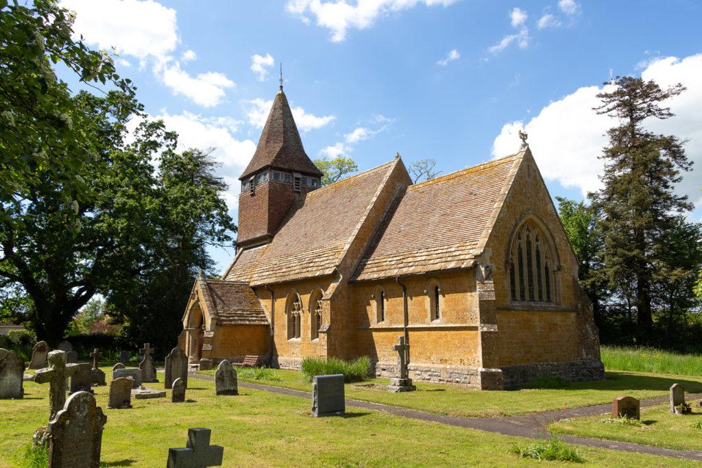 Church of St Peter - Hornblotton, Somerset, UK. ID IMG_0415