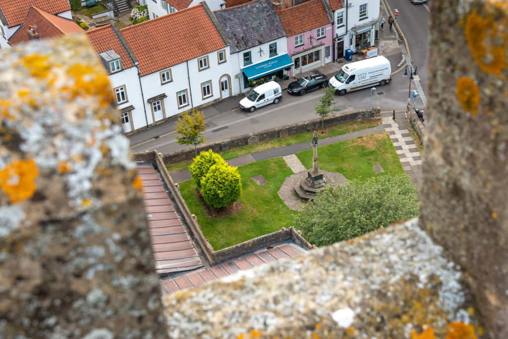View from St Cuthberts Church - Wells, Somerset, UK. ID JB1_5502