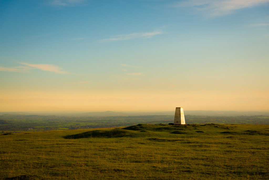 Wavering Down - Mendip Hills, Somerset, UK. ID JB1_1777