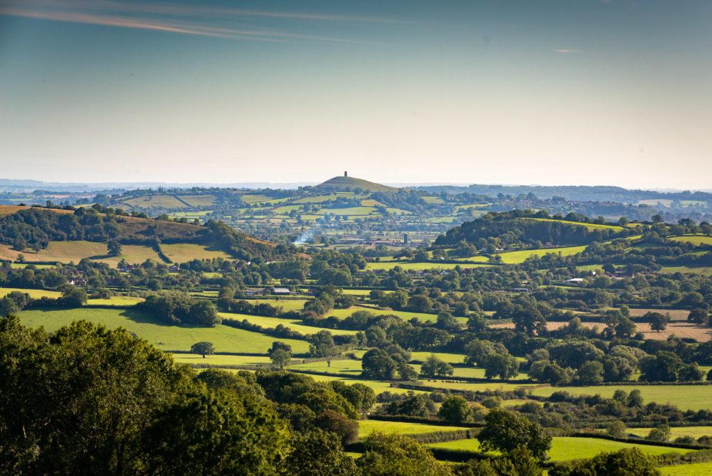 Glastonbury Tor - From Lynchcombe, Somerset, UK. ID JB1_9749