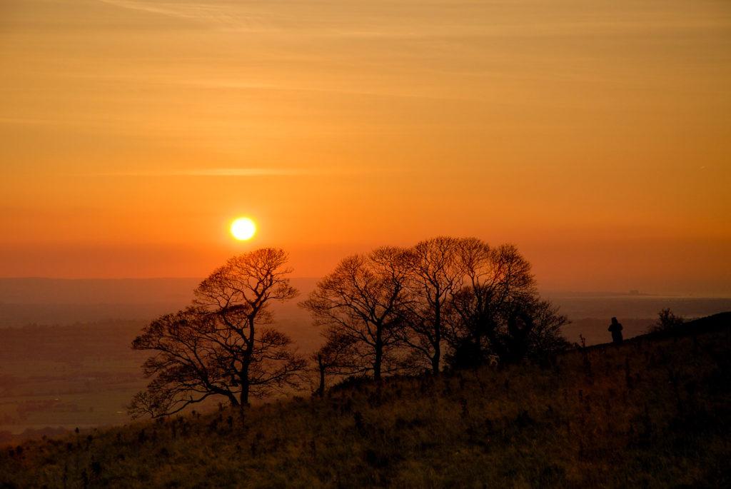 Lynchcombe Sunset - Mendip Hills, Somerset, UK. ID JBB_4298