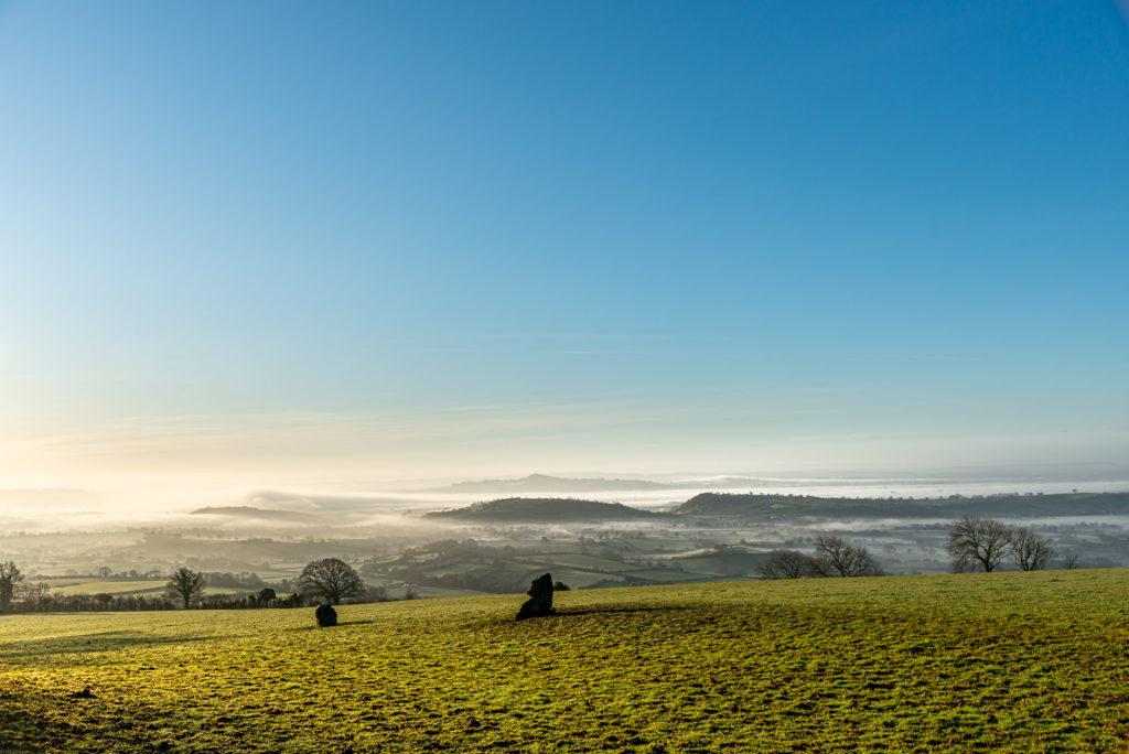 Somerset from Deerleap - Mendip Hills, UK. ID JB1_0489
