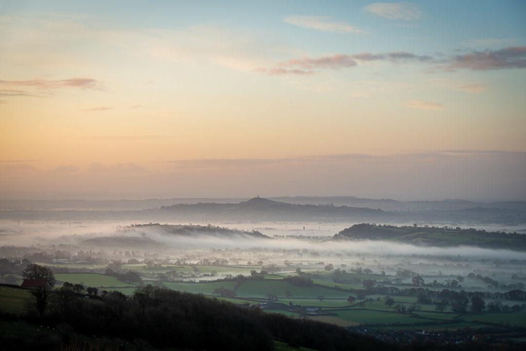 Glastonbury Tor - From Lynchcombe, Somerset, UK. ID JB1_4313H