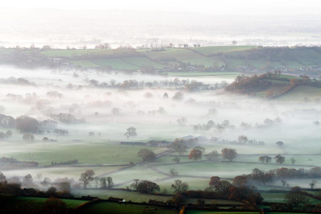 Callow Hill - From the Mendip Hills, Somerset, UK. ID JB1_4353