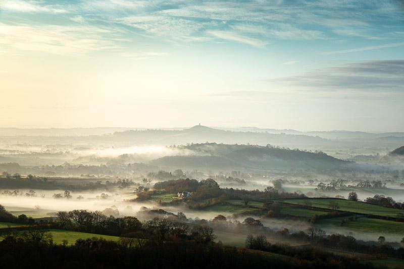 Glastonbury Tor from Deerleap - Somerset, UK. ID JB1_4460