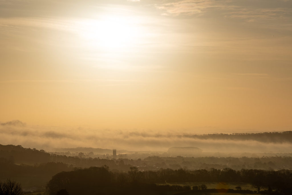 Wells Sunrise - Somerset, UK. ID JB1_4495H