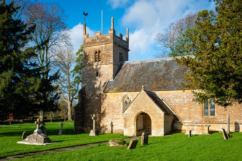 St Michaels Church - Blackford, Somerset, UK. ID JB1_1819